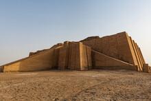 Ziggurat, Ancient City Of Ur, The Ahwar Of Southern Iraq, UNESCO World Heritage Site, Iraq