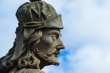 Prophet Statue Closeup - Congonhas - Minas Gerais - Brazil