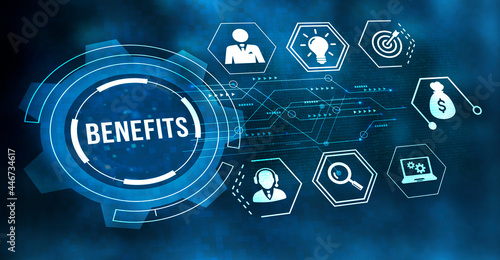 Fotografiet Internet, business, Technology and network concept
