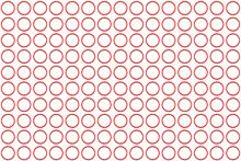 Textura O Fondo De Círculos Rojos