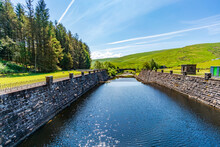 Welsh Countryside In Elan Valley