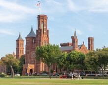 The Castle First Smithsonian Institution Building Designed By Architect James Renwick Jr.