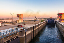 Esna - Nile River Canal Lock -