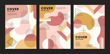 Flat Abstract Art Cover Collection_7