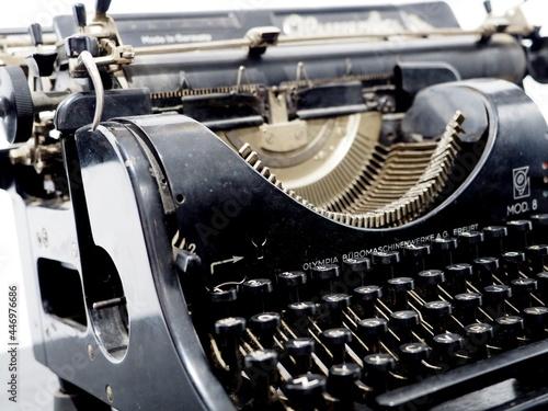 Fototapeta Stara maszyna do pisania
