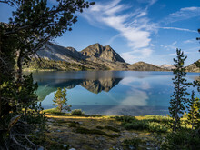 Duck Lake In Sierra Nevada Mountains