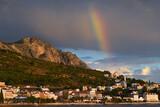 Fototapeta Rainbow - Tęcza w Chorwacji