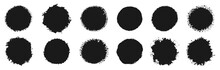 Circular Grunge Vector Collection