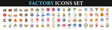 Factory Icons Set.