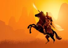 Ancient Chinese Warrior Guan Yu