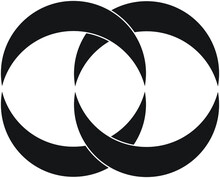 Circle Shape Object Simple Logo