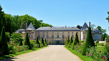 Rueil Malmaison; France - July 18 2021 : Malmaison Castle