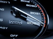 2022 Year Car Speedometer