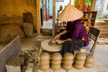 Traditional Pottery Making In Hoi An