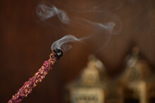 Large Red Homemade Incense For A Relaxing Time With Nice Smell