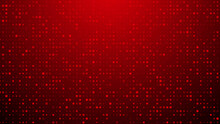 Abstract Dot Red Pattern Gradient Texture Technology Background.
