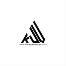 KJV Letter Logo Creative Design. KJV Unique Design