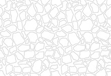Paving Stone Coating For Fillings. Terrazzo Flooring Vector White Seamless Pattern. Trencadis Texture With White Stone Chips. Wall Or Track Tiles, Walkway Natural Stone.