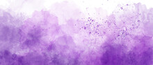 Dark Purple Gradient Background Of Watercolor Clouds Texture