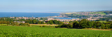 Berwick Upon Tweed Panorama, Which Is The Most Northerly Town In England And Is Located In Northumberland At The Mouth Of The River Tweed Just Below The Scottish Border