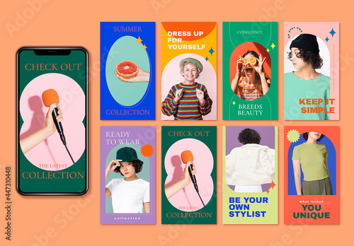 Style and Fashion Layoutset Forsocialmediastory