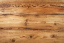 Light Brown Old Vintage Wooden Planks Background