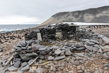 The Remains Of The 1903 Swedish Antarctic Expedition Hut Led By Otto Nordenskjold, Paulet Island