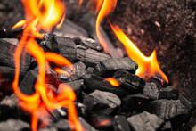 Grillfeuer BBQ