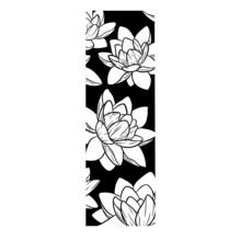 Lotus Flower Compo Full Black Tattoo