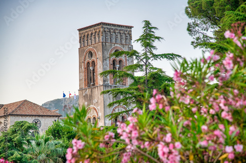 Campanile of Ravello, Amalfi Coast, Italy. Fototapet