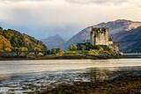 Fototapeta Big Ben - Eilean Donan castle in Dornie the highlands of Scotland UK