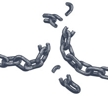 Chain Links Breaking Freedom Design