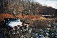 Abandoned Car, Bluefield, West Virginia, USA.