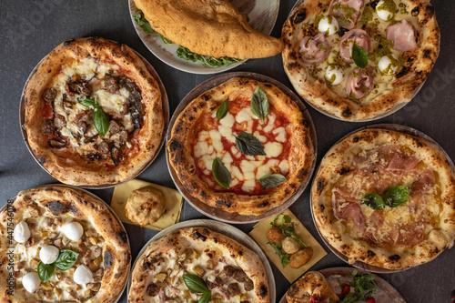 Fototapeta pizze napoletane