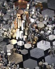 Rising Complex Geometric Metallic Growth And Breakdown Data