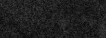 Panorama Of Black Polished Sandstone Wall Texture And Seamless Background