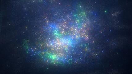 宇宙銀河背景1