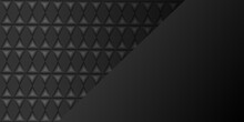 Abstract Black Triangle Background