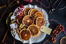 Christmas Food Concept With Spices