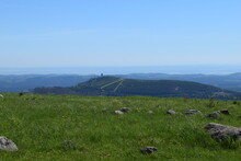 View From The Brocken To The Wurmberg; Germany; Harz Mountains