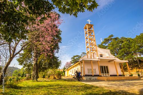 church of st john the baptist Fotobehang
