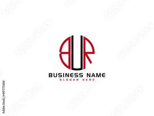 Obraz na plátně Letter BUR Logo Icon Vector Image Design For New Business