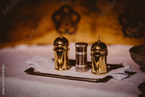 Fotografía aceites, oleos, sacramento bautizo