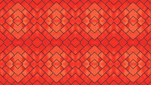 A Creative Beautiful Texure Design Background In Red Colour.