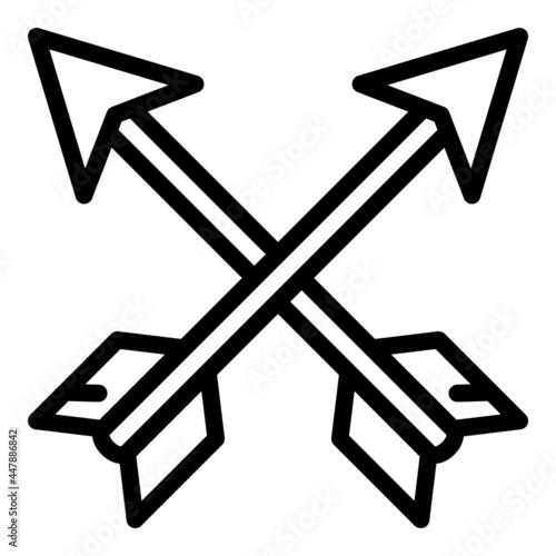 Canvas Archer arrows icon