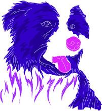 Dog Modern Logo Design