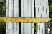 Square Ruler And Aluminium Sections