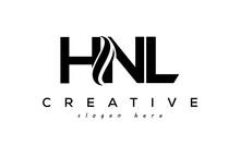 Letter HNL Creative Logo Design Vector