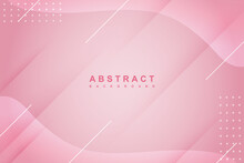 Abstract Liquid Pink Background With Fluid Gradient Composition And Diagonal Shadow
