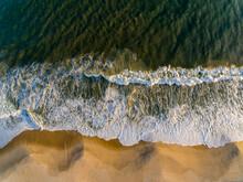 Aerial Photo On The Seashore